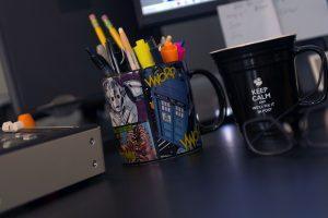 Pen cup and mug