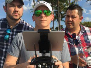 Drone Team - Adam, Jose & DJ